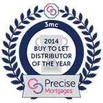 Precise Mortgages - Buy to Let Distributer of the Year 2014